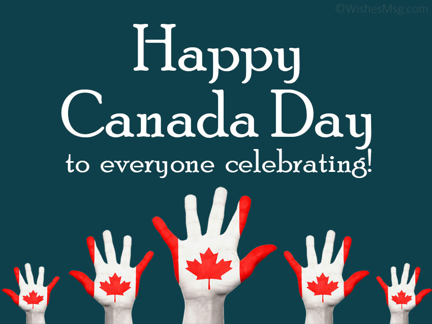 happy canada day greetings