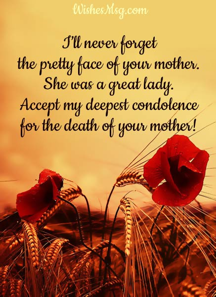 Condolence-Messages-For-Mother's-Death