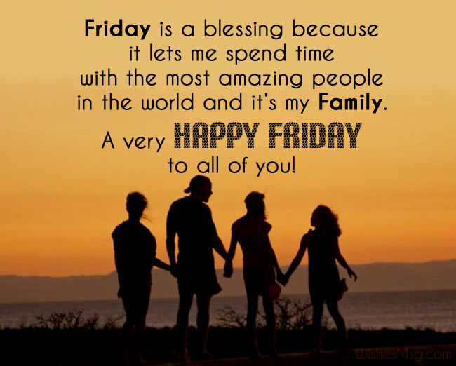 Friday Wishes Messages For Loved One