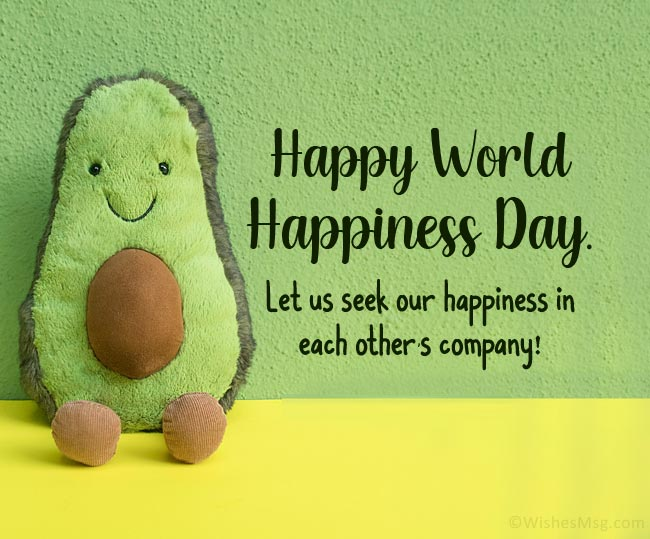Happiness Day Wishes for Loved Ones
