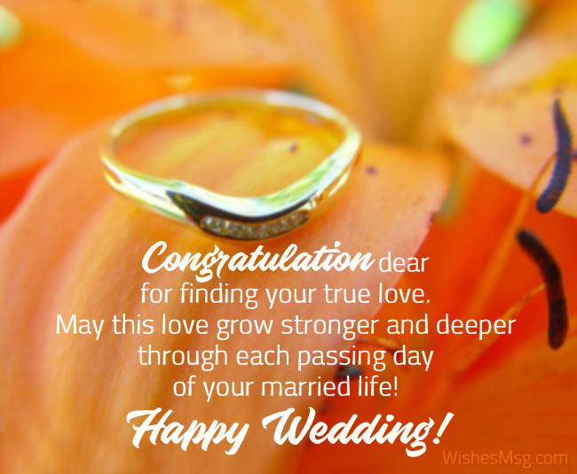 Happy Wedding Wishes For Daughter