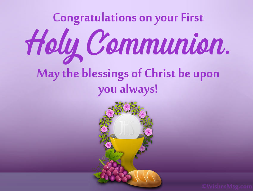 1st Holy Communion Wishes