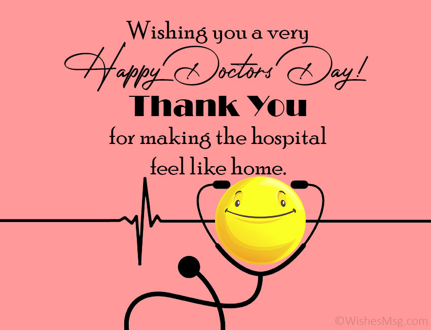 doctors day greeting cards messages