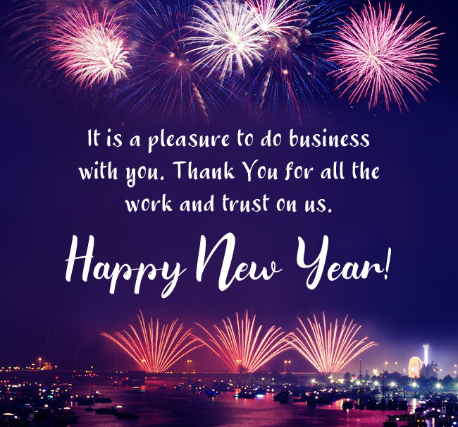 New Year Wishes for Business