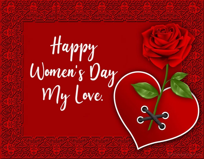 happy women's day my love