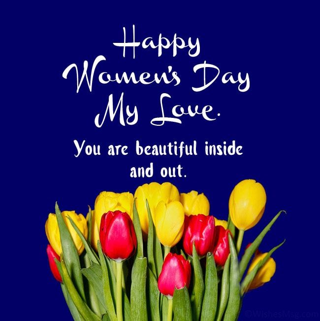 womens day msg for wife