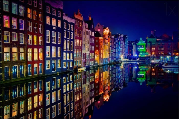 9 Canals of Color - Amsterdam Netherlands