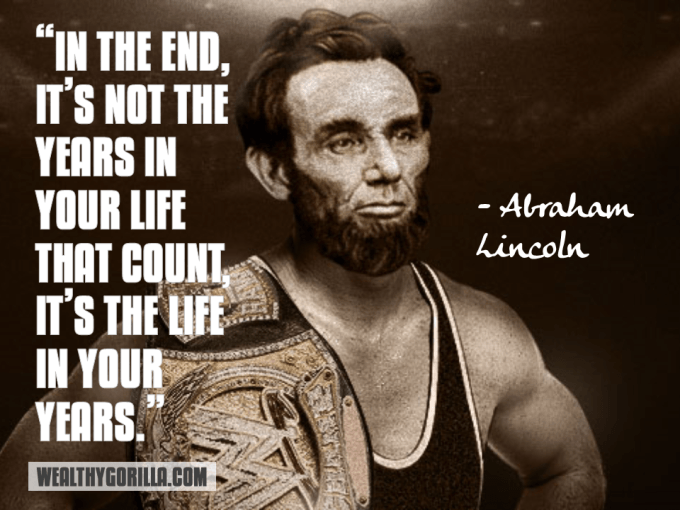 Abraham Lincoln Inspirational Quote