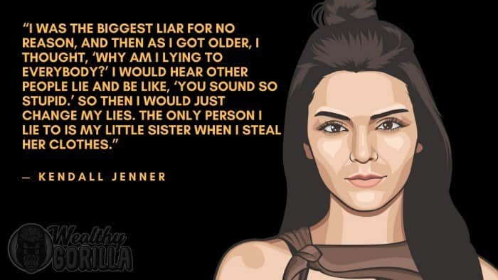 Best Kendall Jenner Quotes 1