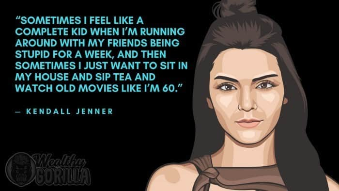 Best Kendall Jenner Quotes 4