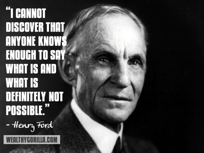 Henry Ford Inspirational Quote