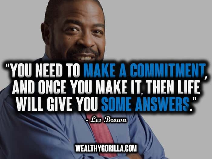 Les Brown Quotes - Picture (2)