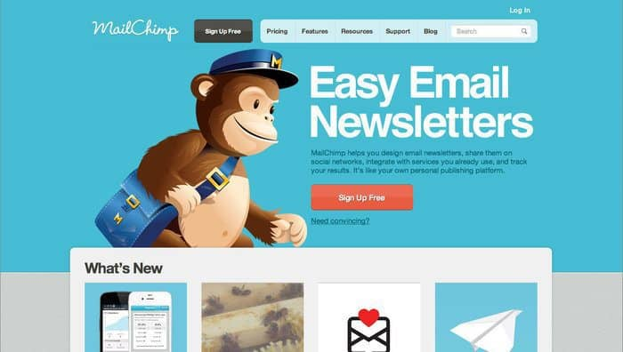 MailChimp Review - Top 10 Email Marketing Tools