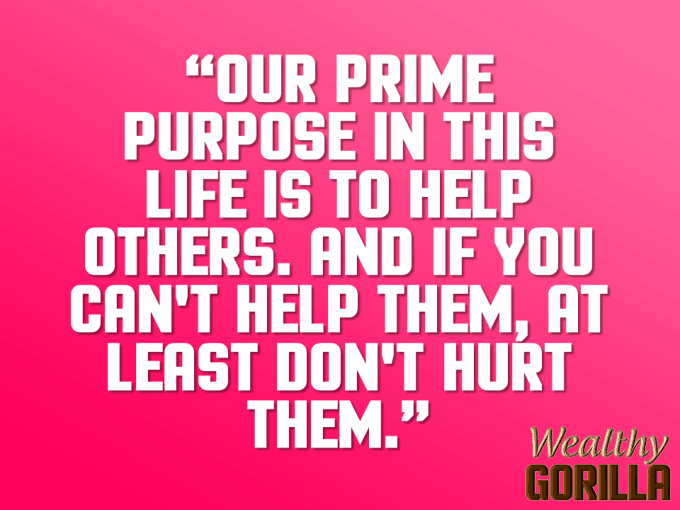 Prime Purpose Quote About Life