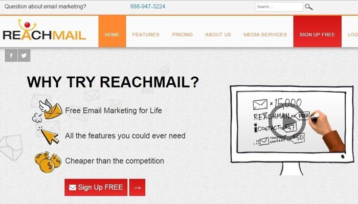 ReachMail Review - Top 10 Email Marketing Tools