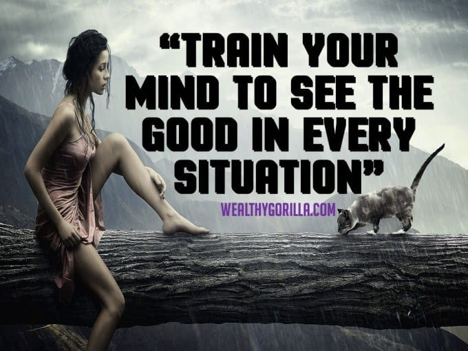 Train Your Mind Motivational Quote