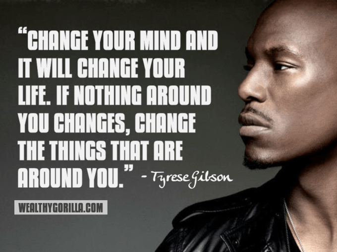 Tyrese Gibson Inspirational Quote