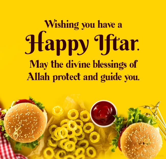 how to wish someone a happy iftar