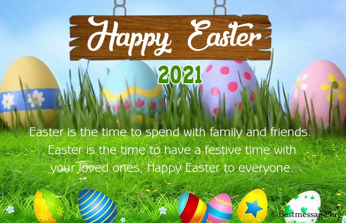 Easter Whatsapp Messages, Easter 2021 Messages Images