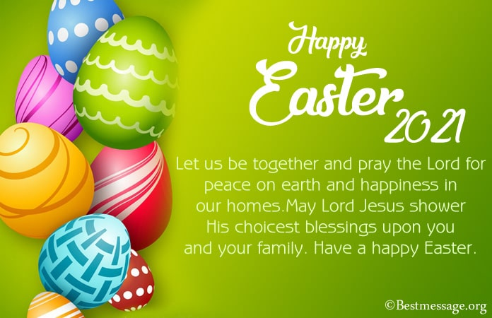 Easter Messages Images, Happy Easter Sunday Wishes 2021
