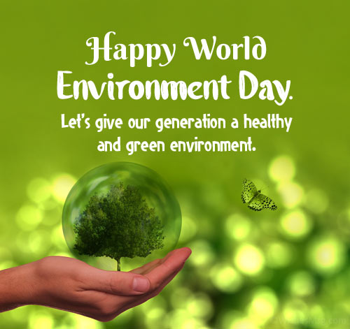 World Environment Day Messages for Card