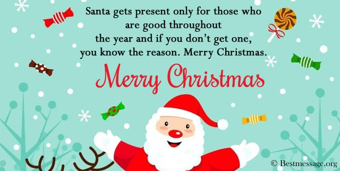 Funny Christmas Messages Image