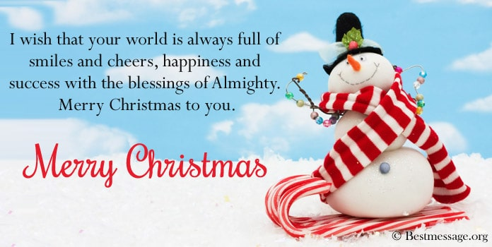Beautiful Christmas Greetings Messages