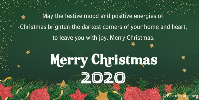 Merry Christmas Wishes text, Christmas Messages Image
