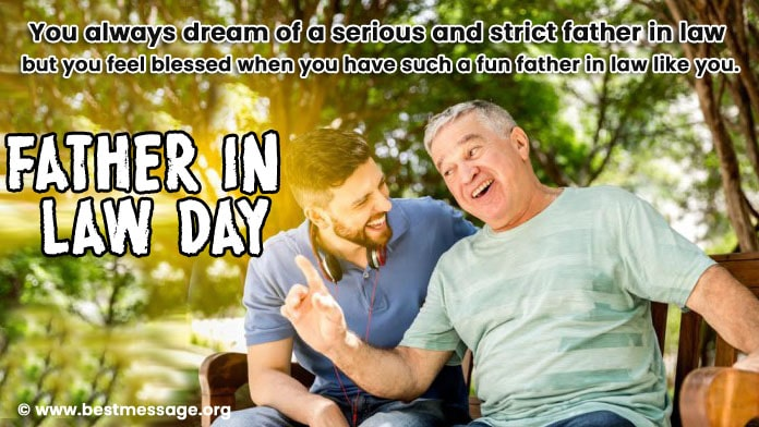 Father in Law Day Wishes - Father in Law Quotes