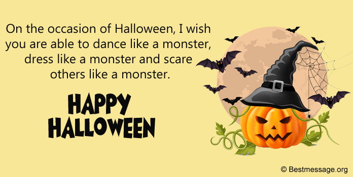 Halloween Wishes, Happy Halloween Greetings Messages