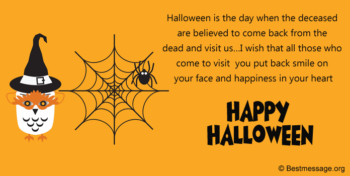 Halloween Messages, Halloween Messages for greeting cards