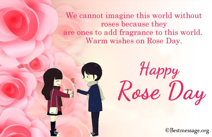 Rose Day Special Lines, Rose Day Messages Photos