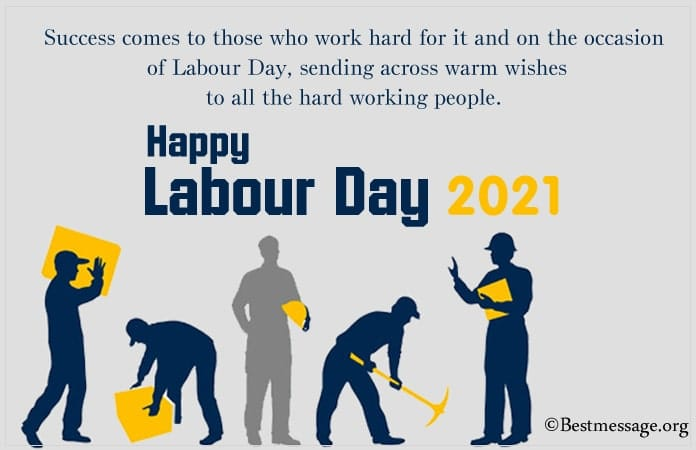 Labour day quotes in English, Labour Day Messages