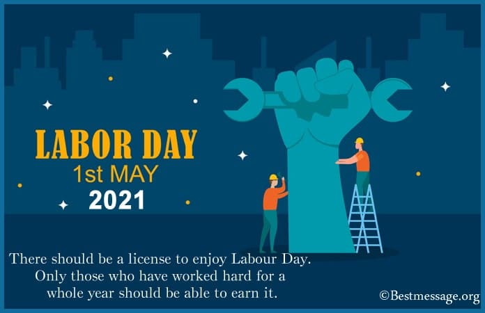 Labour day pictures, images with Messages