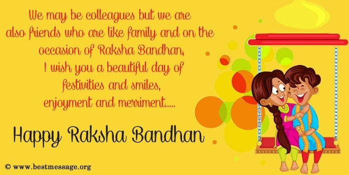Happy Rakhi Wishes Messages