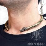 torc necklace male