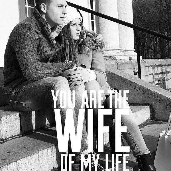 You Are The Wife of My Life
