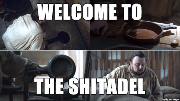 Welcome to the shitadel