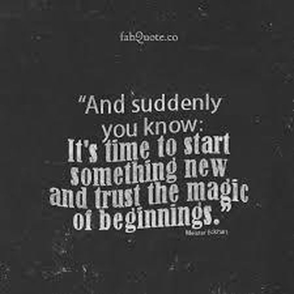 Best Images with Quotes on New Beginnings 1