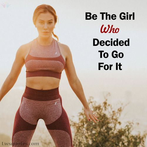 Cool Fitness Quotes For Girls 2021