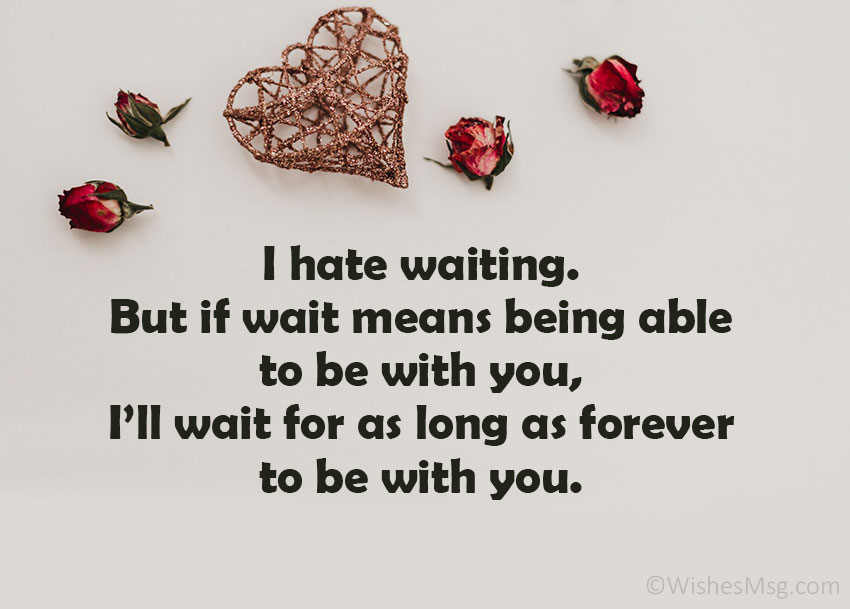 Waiting for You Messages for Him