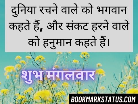 Happy Tuesday Quotes in Hindi 4