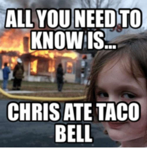 all you need to know taco bell meme