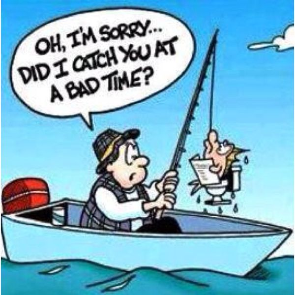 Fantastic bad fishing day jokes pictures
