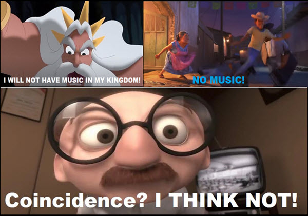 coincidence i think not meme disney movies