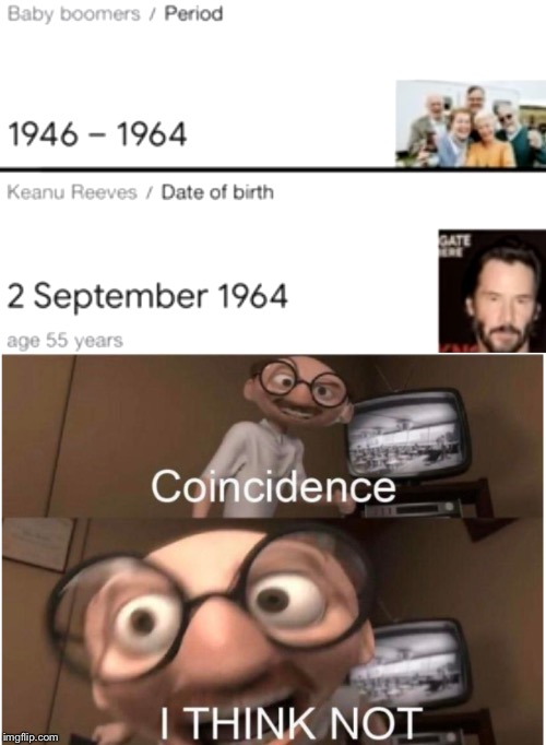 coincidence i think not meme keanu reeves