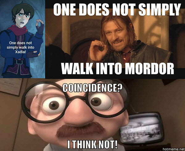 coincidence i think not meme one does not simply walk into