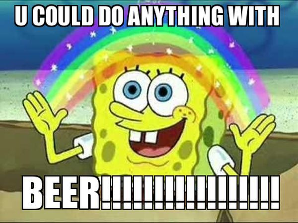 common beer time meme