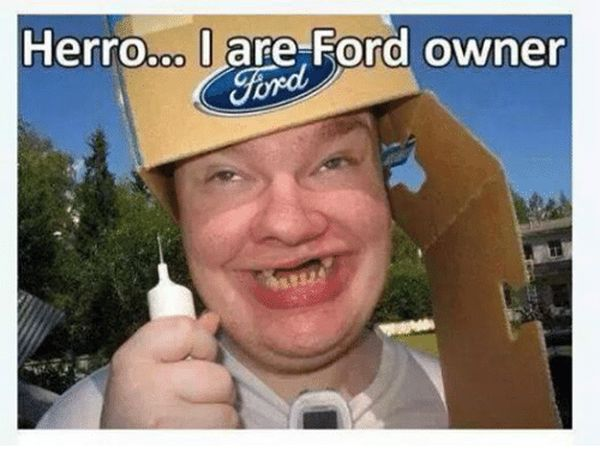 cool ford owner memes