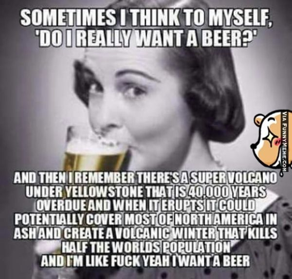 cool i need a beer meme